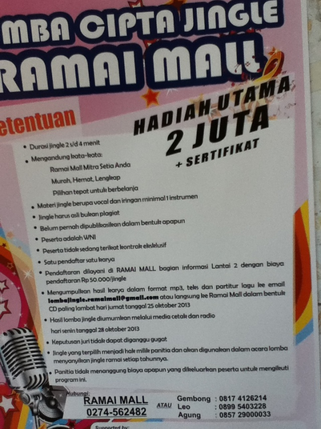 Lomba Cipta Jingle